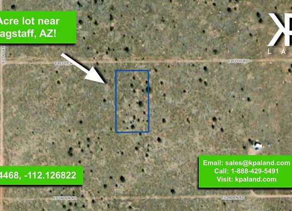 1 Acre Vacant Lot #3 in Williams, AZ (APN: 503-19-072)