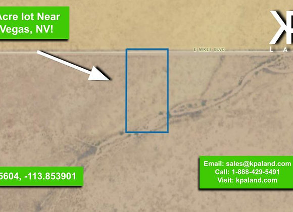 1.25 Acre Vacant Lot in Mohave, AZ (APN:334-05-011B)
