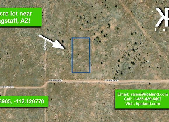 1 Acre Vacant Lot #1 in Williams, AZ (APN: 501-45-073)