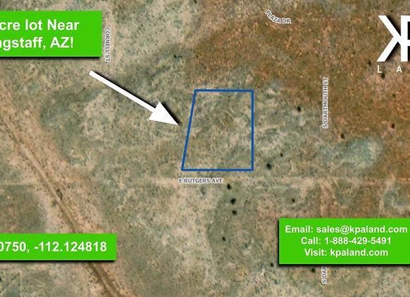 1 Acre Vacant Lot in Williams, AZ (APN: 503-03-026)
