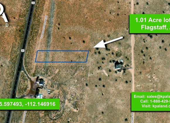 1.01 Acre Vacant Lot in Williams, AZ (APN: 50307008)