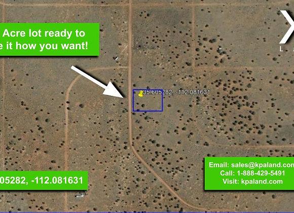1.01 Acre Vacant Lot in Williams, AZ (APN: 501-13-121)