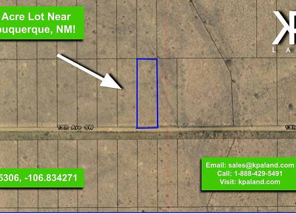 .5 Vacant lot in Sandoval County, NM (APN:1-003-068-484-101)