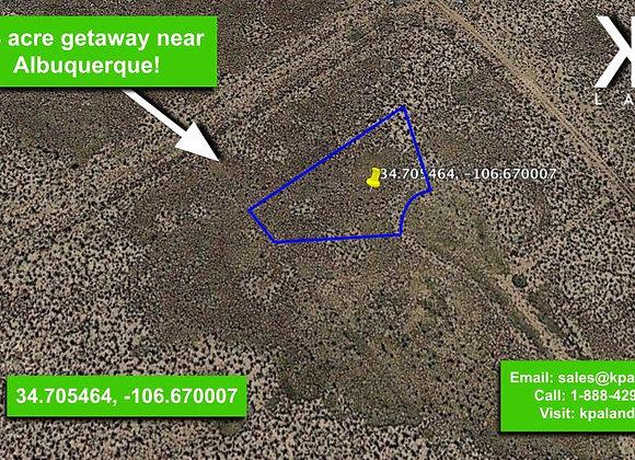 .44 Acre Vacant lot in Belen, NM (APN:1-013-031-260-360-210290)