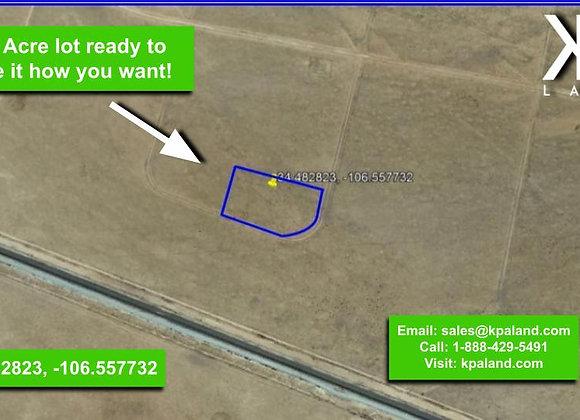 5.19 Acre Vacant Lot in Belen, NM (APN: 1019016410285000000)