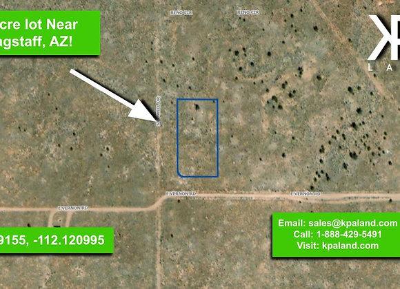 1 Acre Vacant Lot #2 in Williams, AZ (APN: 501-45-072)