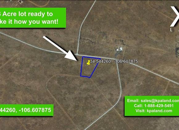 5.8 Acre Vacant Lot in Belen, NM (APN: 1-016-020-285-260-000260)