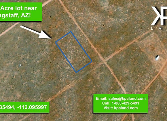 1.12 Acre Vacant Lot in Coconino County, AZ (APN:501-37-028)
