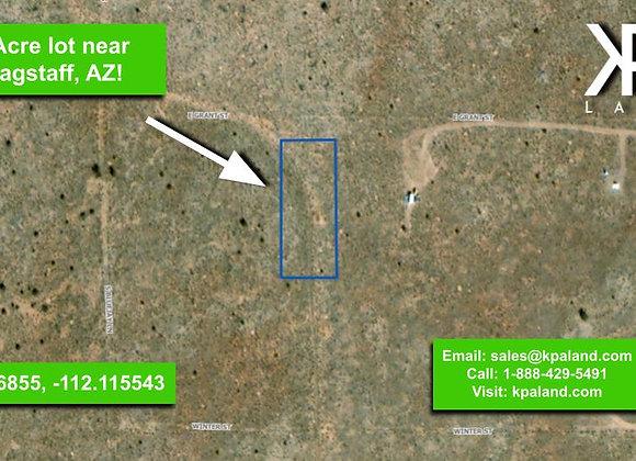 1 Acre Vacant Lot #3 in Williams, AZ (APN: 501-42-077)
