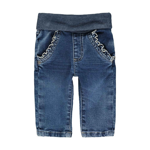 Steiff Jeans mit Rüschen