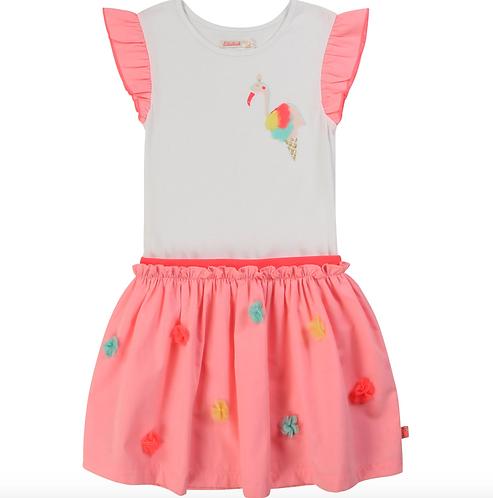 Billieblush Flamingo Kleid