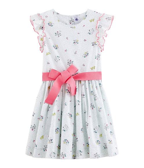 Petit Bateau Kleid mit Schleife