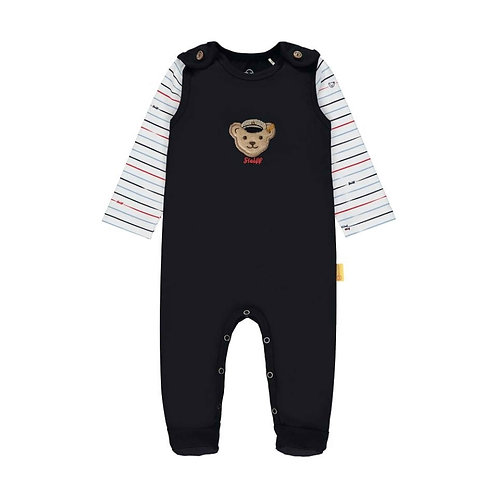 Steiff Baby Set Strampler & Langarmshirt