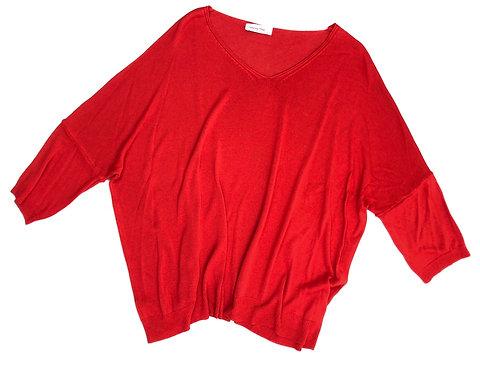 Damen Pullover rot