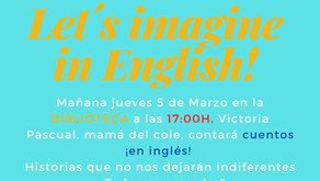 Let´s imagine in English!