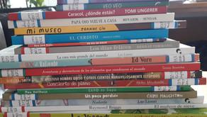 ¡Siguen llegando libros a la biblioteca!