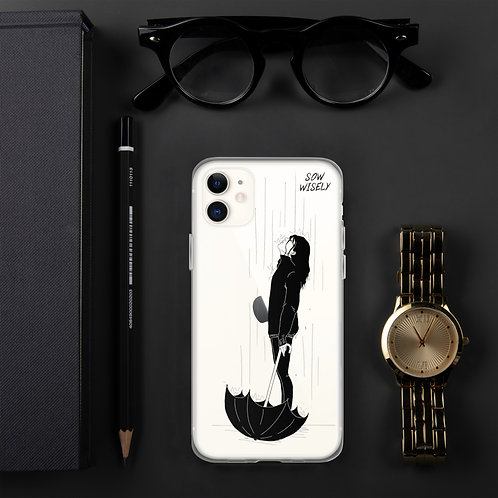 Sow Wisely iPhone Case
