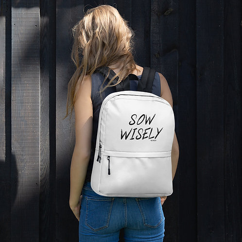 Sow Wisely - Backpack