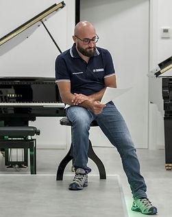 Paolo Caserta pianoforte tastiere