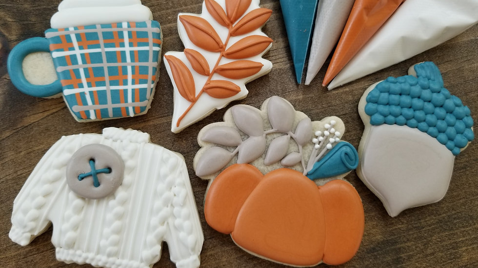 Virtual Fall Cookie Decorating Class