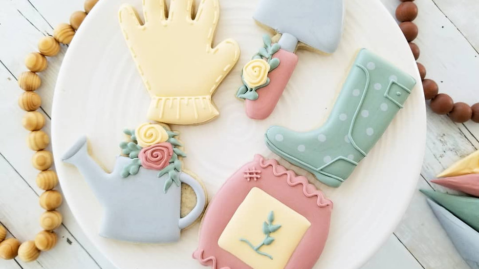 Beginner Spring Cookie Decorating Class  May 27th 6:30p-8:30p