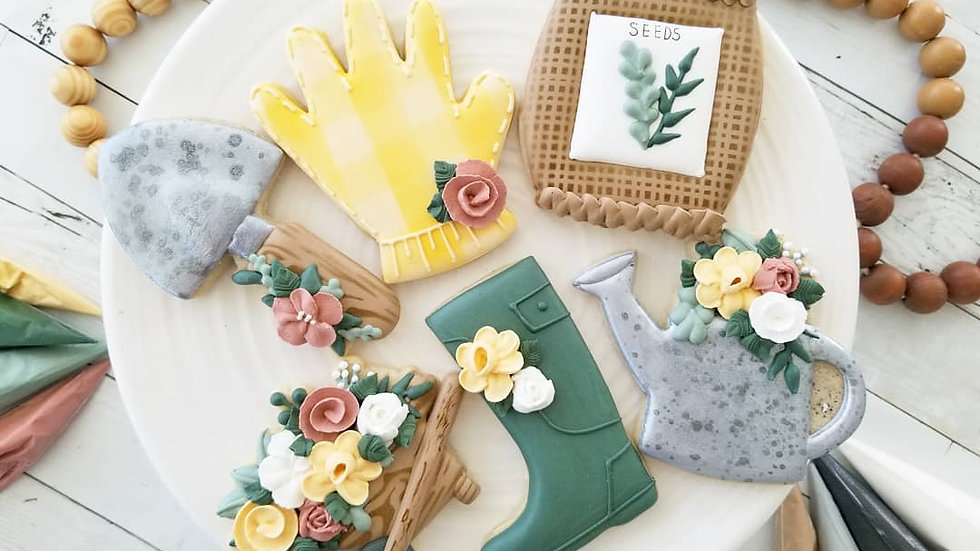 Intermediate Spring Cookie Decorating Class May 22nd 10a-2p