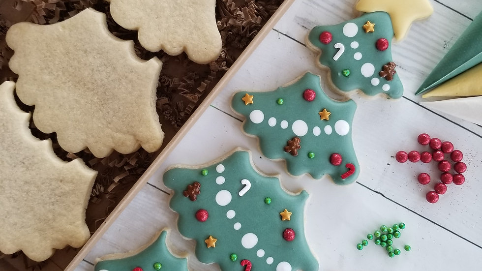 Decorate a Tree DYO(Decorate Your Own) Cookie Kit