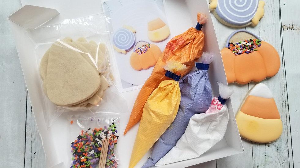 Trick or Treat DIY Cookie Decorating Kit