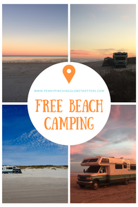 free beach camping RV Life