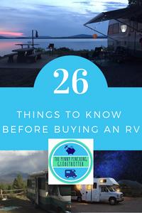 RV Life, RV Living, Fulltime RV, Penny pinching