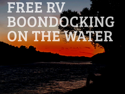 RV Boondocking in Itch-Kep-Pe Park, Montana