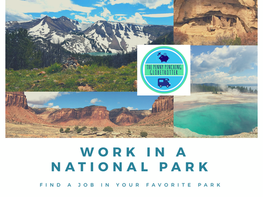 Find a Job in a US National Park