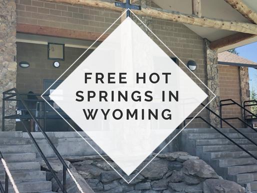 Free Hot Springs in Wyoming