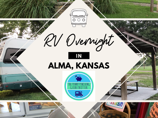 ALMA, Kansas a Great Overnight Stop for RVers