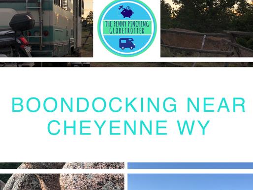 Boondocking Near Cheyenne WY