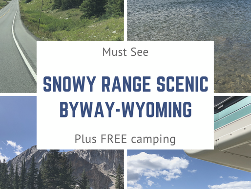 Snowy Range Scenic Byway WY Plus Free Boondocking