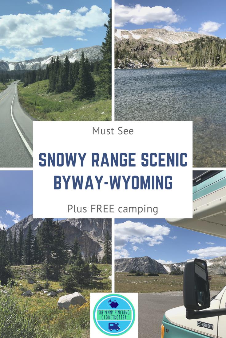Snowy range byway