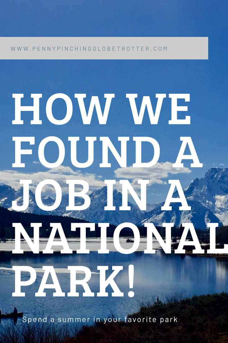 Get a job in a national park