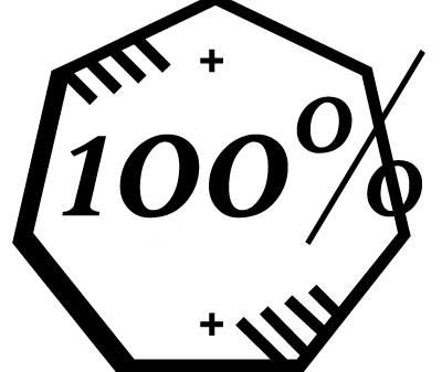 100%!!
