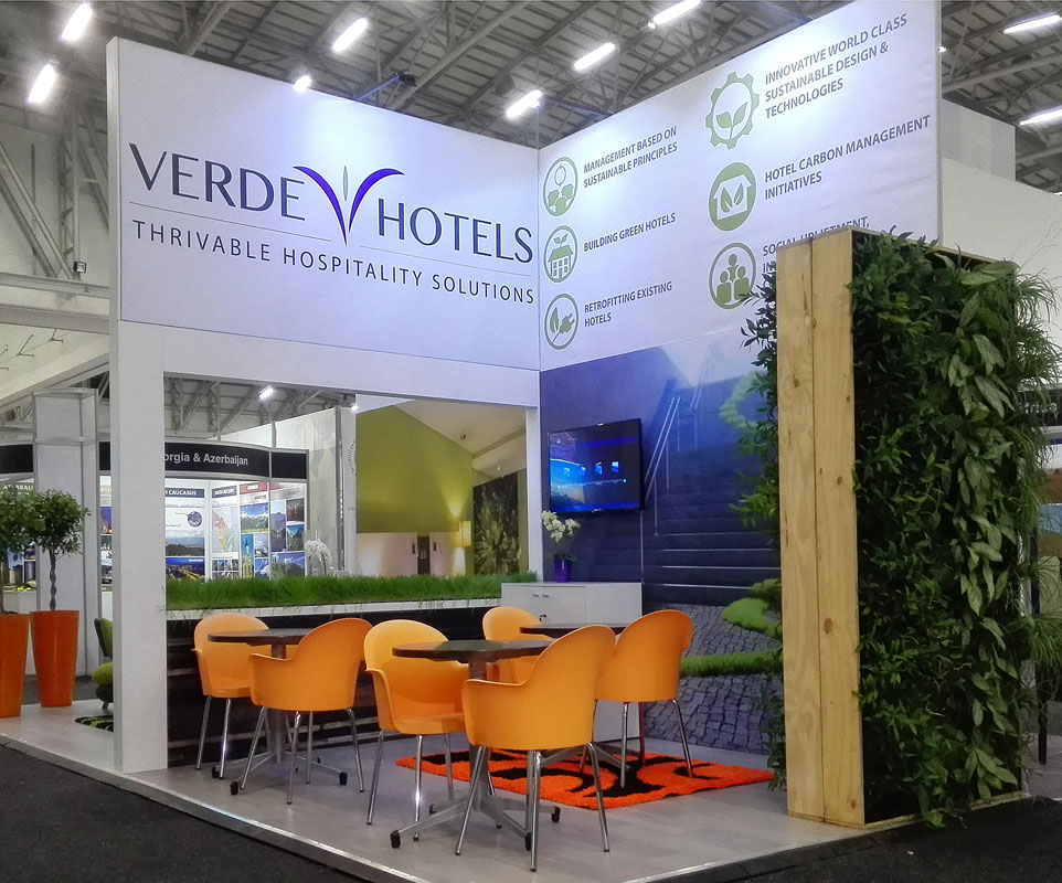 Verde Hotels Stand