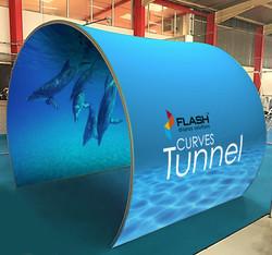 Flash Curves tunnel