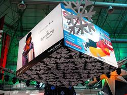 Gigantic suspended Cube