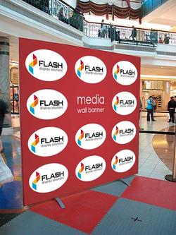 Flash Media Wall