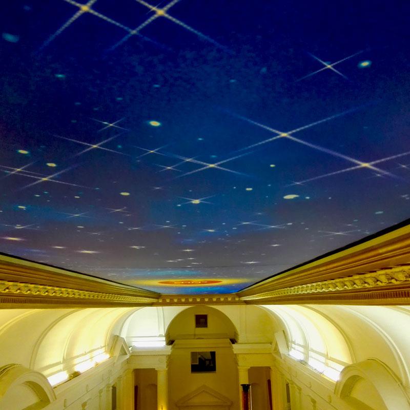 Flash ceiling