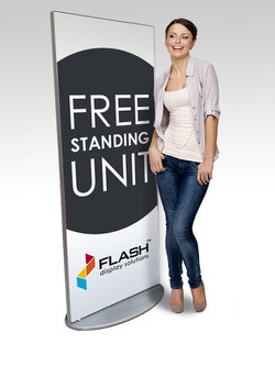 Flash free standing unit-medium