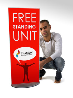 Flash free-standing unit-small