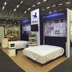 Hästens Exhibition Stand