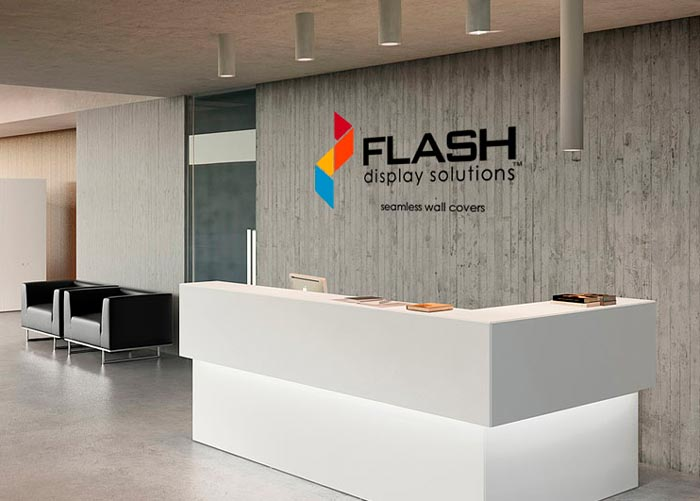 Flash Seamless Wall Covers