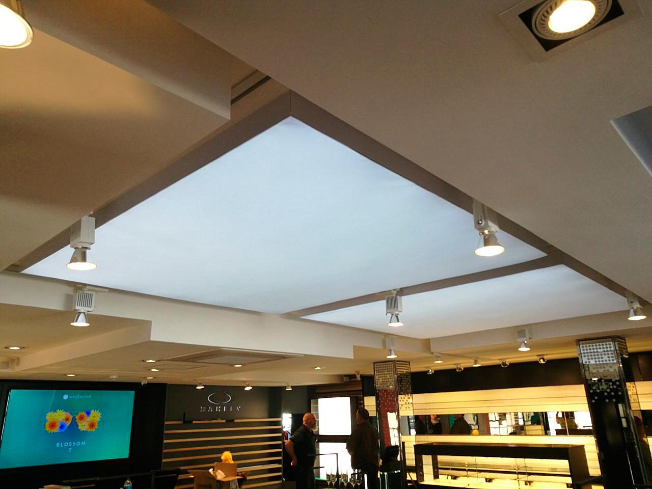 Flash Ceiling light box