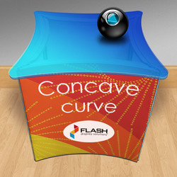 NEW! Flash concave cube